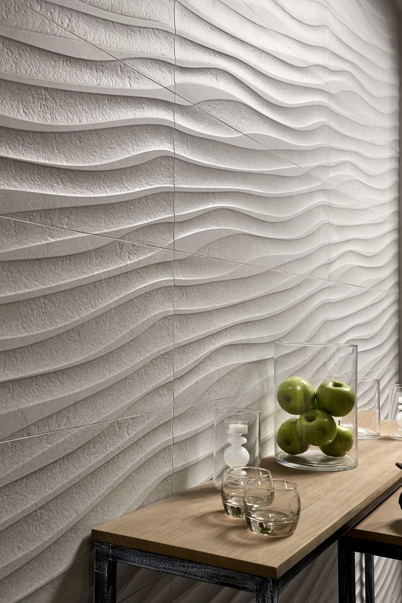 Mixit Concept Blanco Origin Spain Interior Walls Tiles Texture Interior
