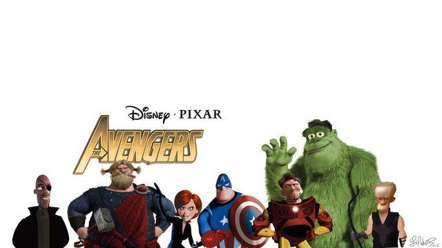 The Pixar Avengers Looks Like the Best Pixar Movie Ever