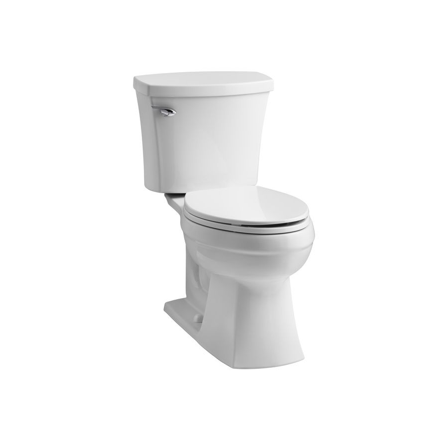 Shop Kohler Elliston White 1 28 Gpf Watersense Elongated 2
