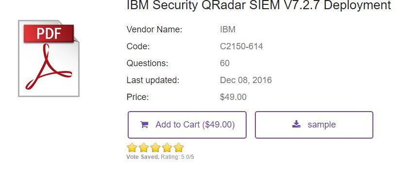 Ibm Security Qradar Siem C2150 614 Exam Practice Material Https Www Certschief Com Exam C2150 614 Https Www Cert This Or That Questions Practice Exam Exam