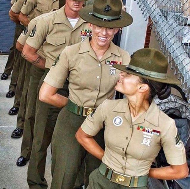 First female Marine drill instructors graduate from San