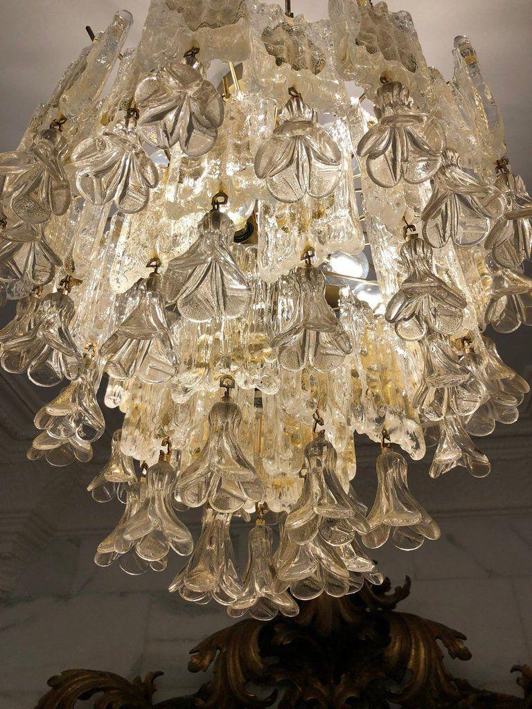 Lampadari Di Murano Ricambi.Fiori Appesi O Gocce Ricambi Per Lampadari Di Venini Carlo