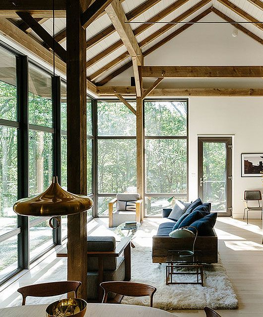 Room · modern rustic home in dwell magazine