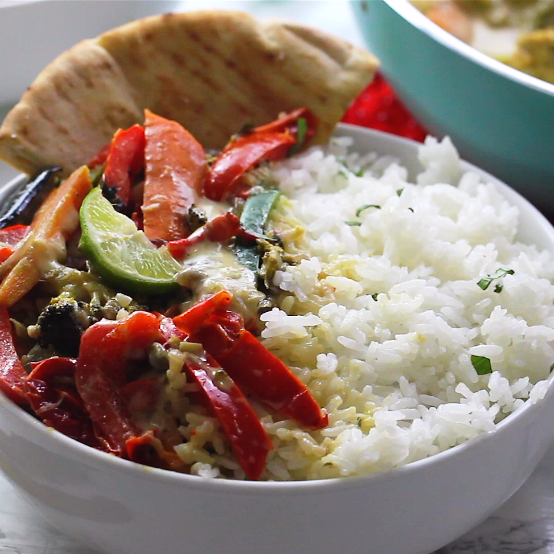 Vegetable Curry For A Crowd Recipe: This Vegan Thai Green Curry Takes Only 15 Minutes Of Prep