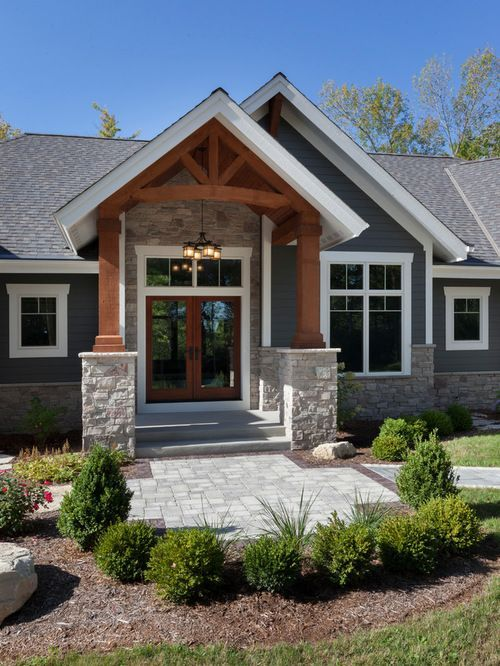 Modern Exterior Home Design Ideas Remodels Photos: Craftsman Exterior Design Ideas, Remodels & Photos