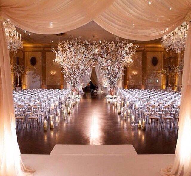 Wedding Ceremony Decorations Ideas Indoor: Indoor Wedding Ceremonies, Wedding