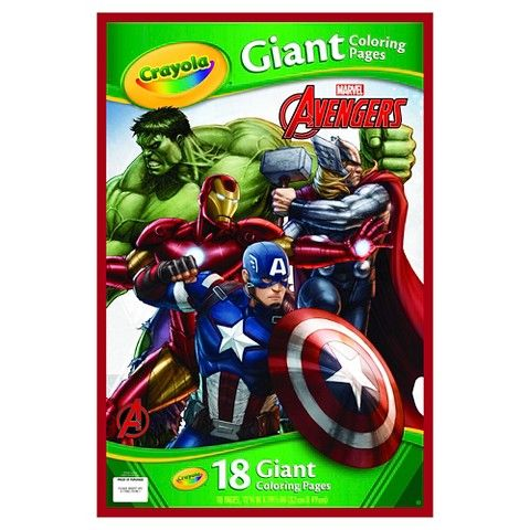 Crayola Giant Coloring Pages - Avengers Gift Ideas Pinterest - new giant coloring pages crayola