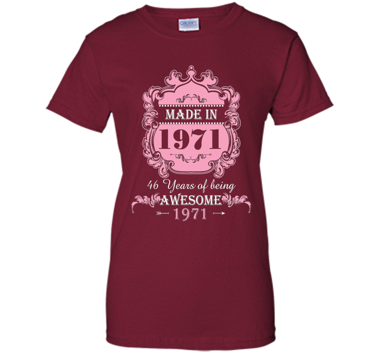 Made In 1971 T Shirt- 46 Years Old Shirt 46th Birthday Gift