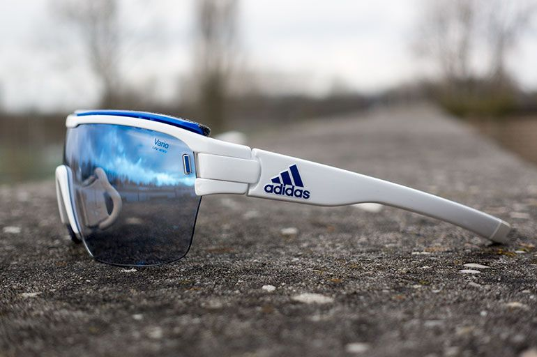 efa72d25144 Adidas Eyewear s all new Zonyk Aero Pro glasses with their Vario lens. Made  for speed as they say
