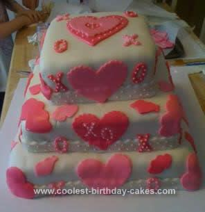 Cool Homemade Valentines Cake Cake Chocolate cake and Homemade