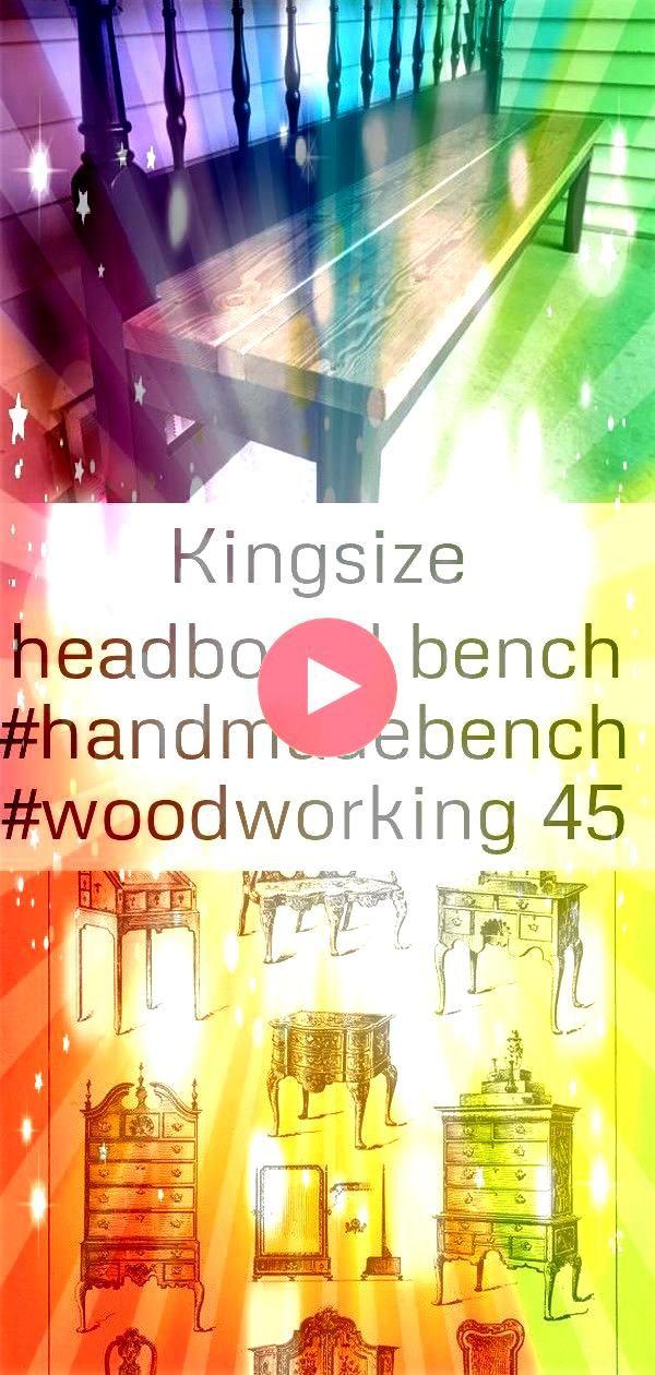 bench 45 Kingsize Headboard Bench Vintage Interior design Sketch English Queen Anne Furniture Designs Large 1904 Altes Küchenbuffet neu streichenKingsize Headboard B...