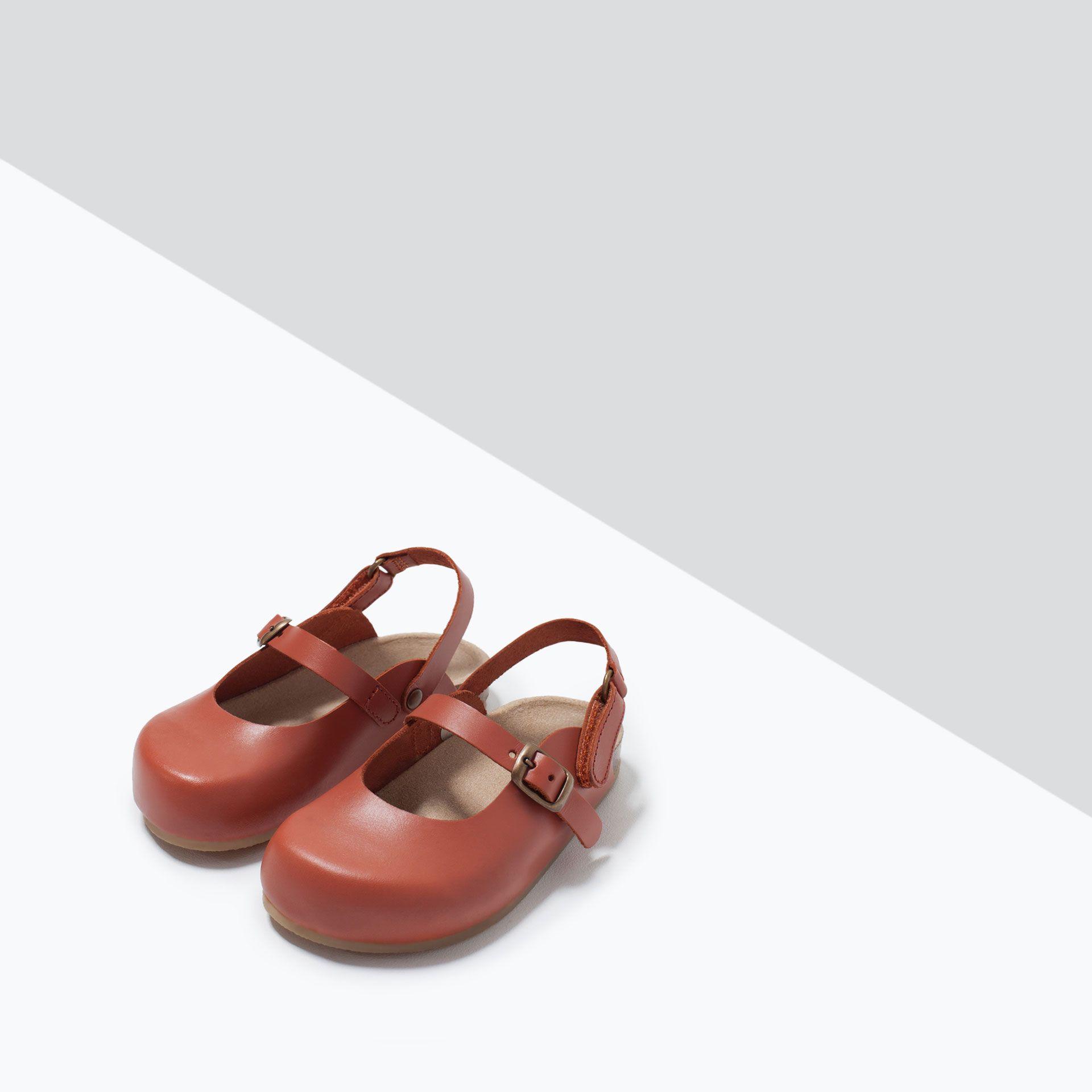 ZUECO PIEL DETALLE HEBILLA - Zapatos - Bebé niña (3 meses ...