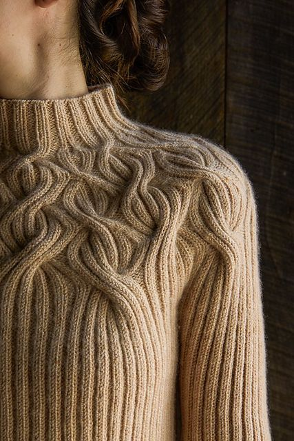 Botanical Yoke Pullover pattern by Purl Soho | Stricken, Stricken ...
