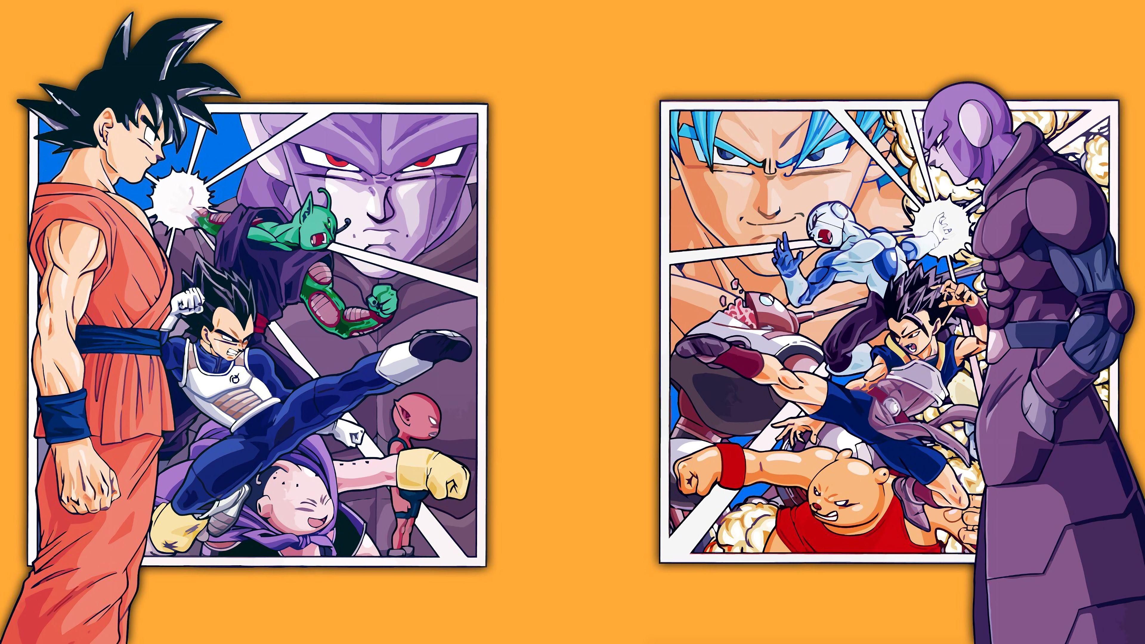 Team Goku Vs Team Hit Characters Dragon Ball Super 4k 1051