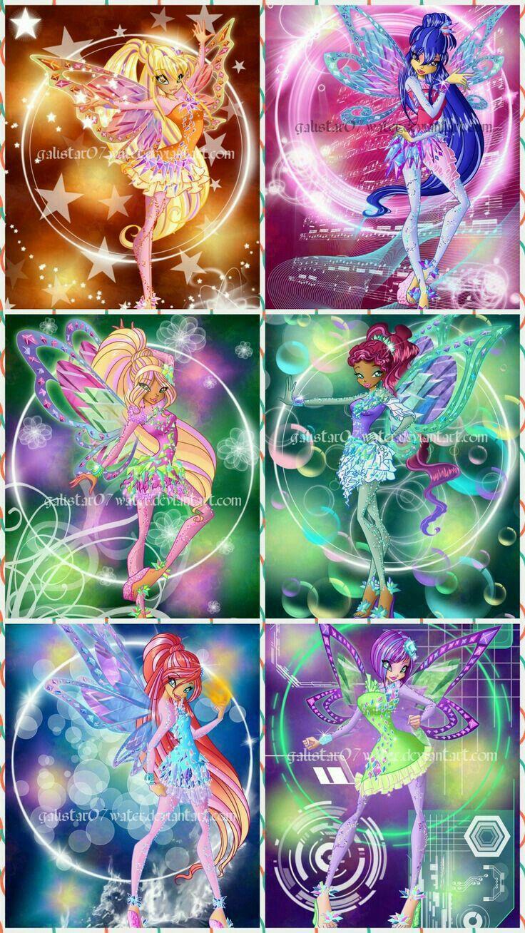 Winx Club is a magic school. Transformation Tayniks. Bloom ...