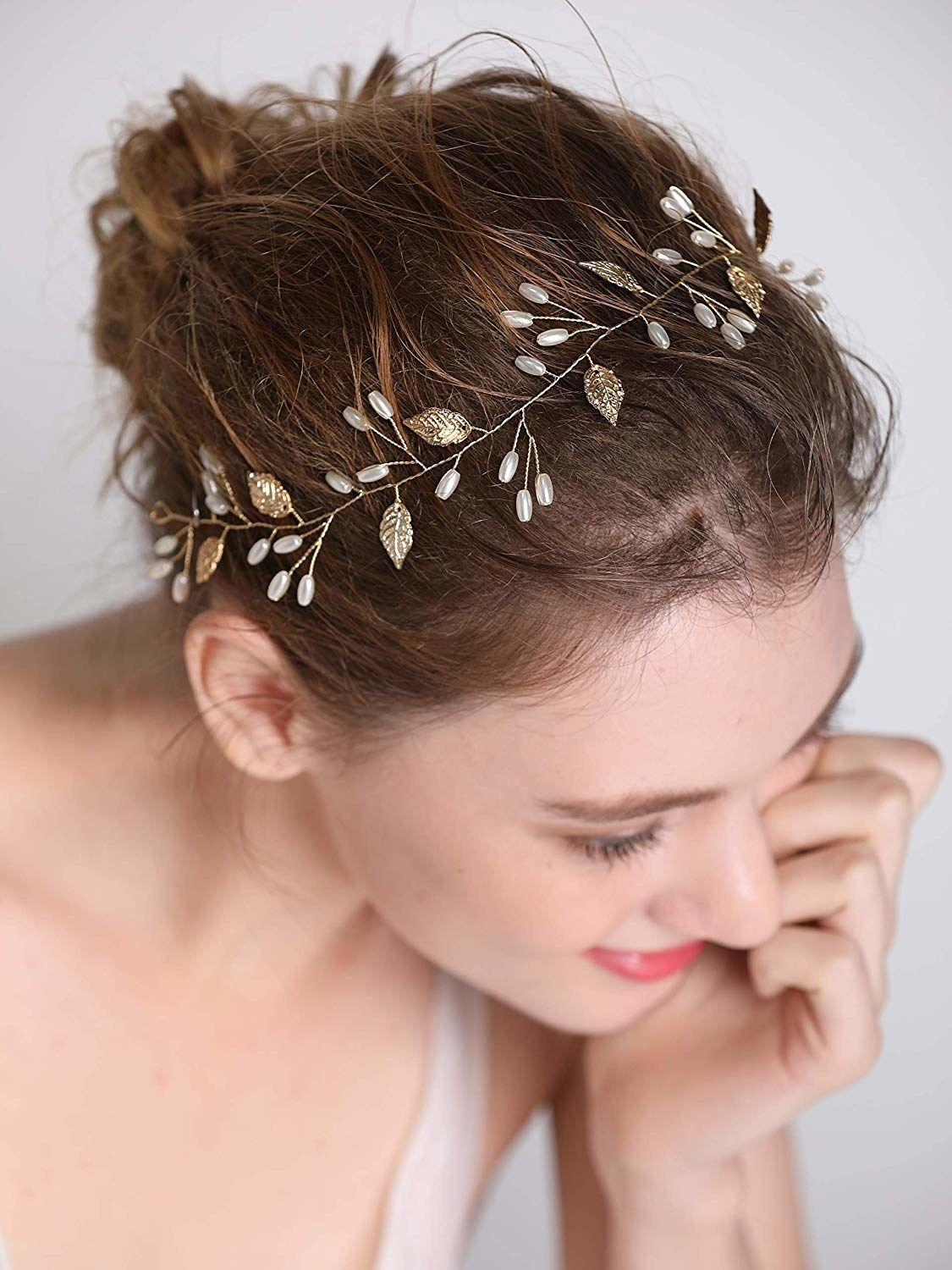 28 Cheap But Fancy Accessories That Ll Up Your Style Game Gold Hair Accessories Rose Gold Hair Accessories Bride Hair Accessories