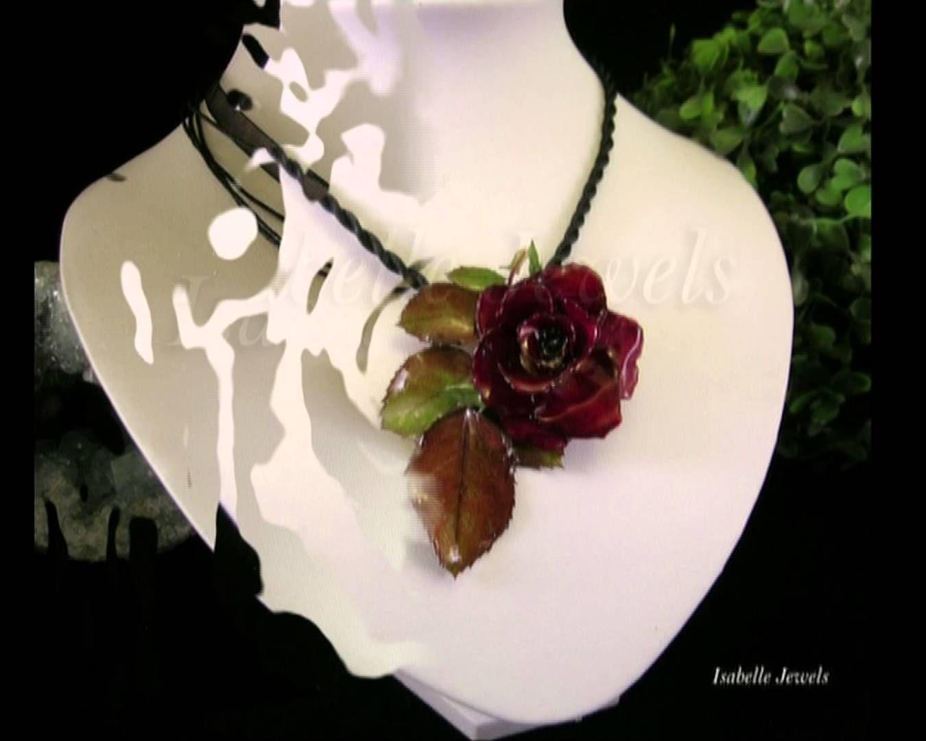 Mobili artistici ~ Video gioielli artistici necklaces flower fiori gioielli