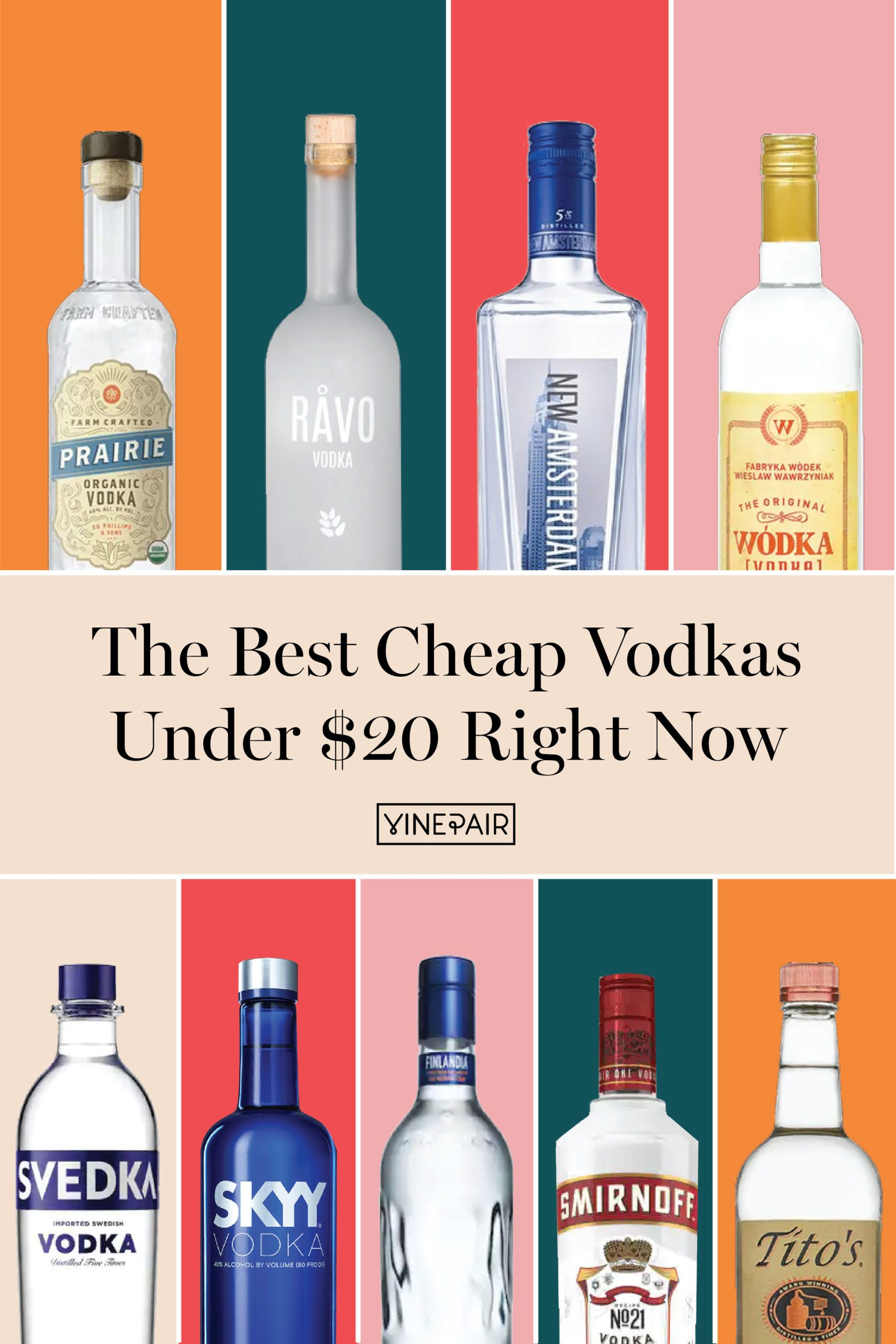The Best Cheap Vodkas Under 20 Right Now In 2020 Vodka Organic