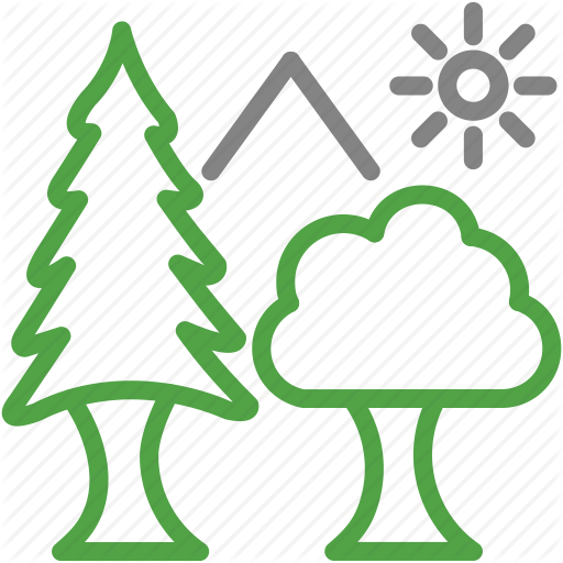 Ecology Environment Evergreen Forest Nature Plant Trees Icon Download On Iconfinder Tree Icon Trees To Plant Nature Plants