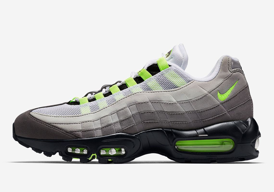 3d336672fdfc7 The Nike Air Max 95 OG Neon Is Returning In March   Sneaker Porn ...