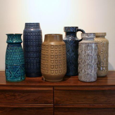 Fullhouse Modern Vintage West German Vases Vase Pinterest