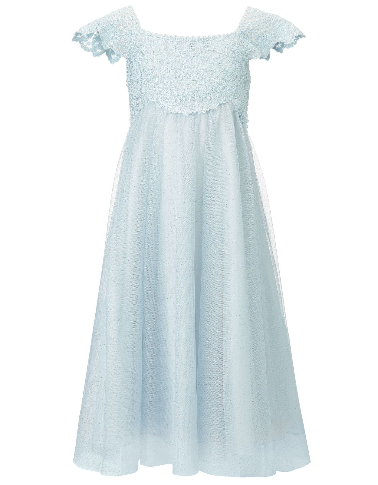 Estella Pale Blue Sparkle Dress | Blue | Monsoon | flower girls ...