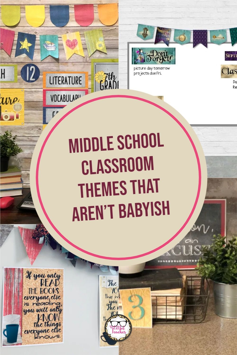Middle School Classroom Themes That Aren T Babyish In 2021 Middle School Classroom Middle School Classroom Themes Middle School Science Classroom