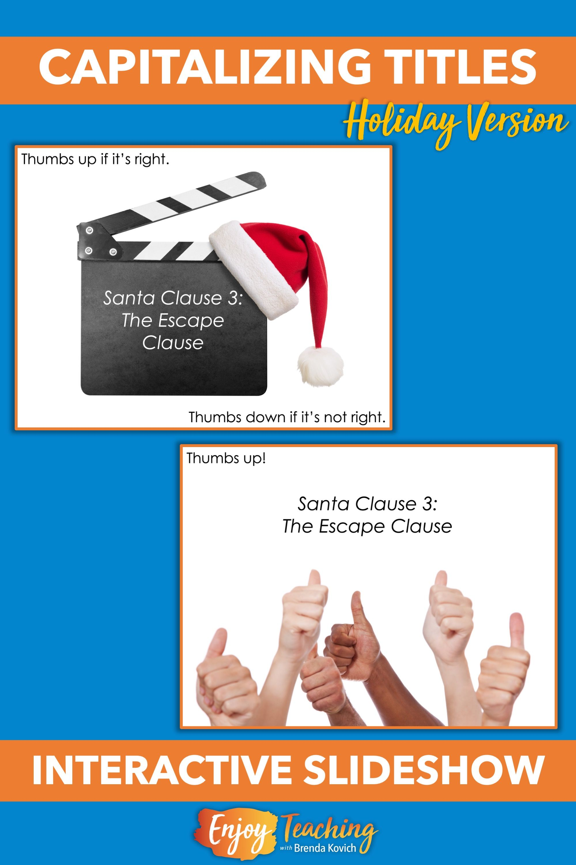 Capitalizing Titles - Holiday and Christmas Capitalization Activities    Writing lessons [ 2999 x 1999 Pixel ]