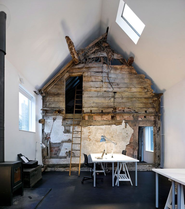 A 300 Year Old Small Cottage House In A Modern Envelope