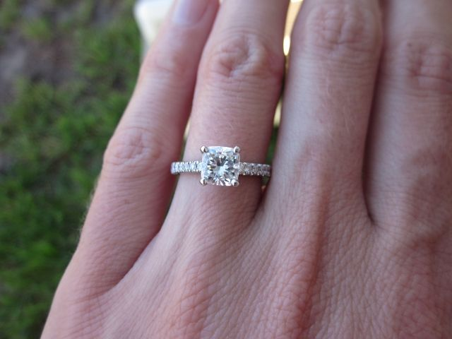 CUSHION CUTS! A collection... : Show Me the Bling! (Rings,Earrings,Jewelry) • Diamond Jewelry Forum - Compare Diamond Prices, Discussions & Diamond Information - Page 9