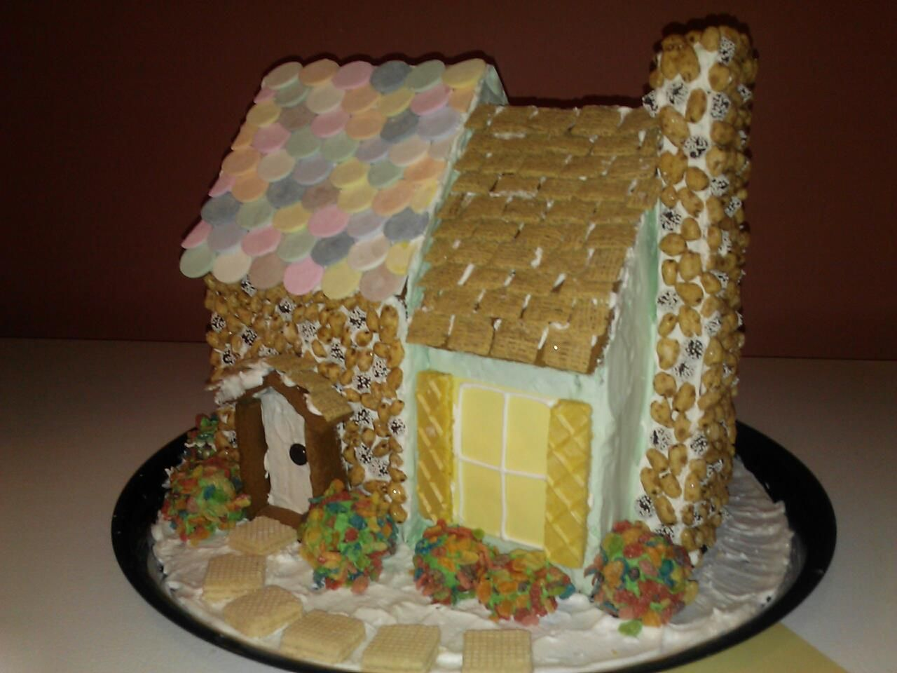 I Did This This Is The Gingerbread House My Mom And I