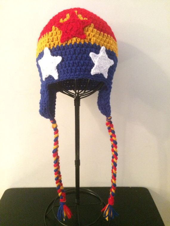 This Crochet Wonder Woman Hat Is Highly Adorable