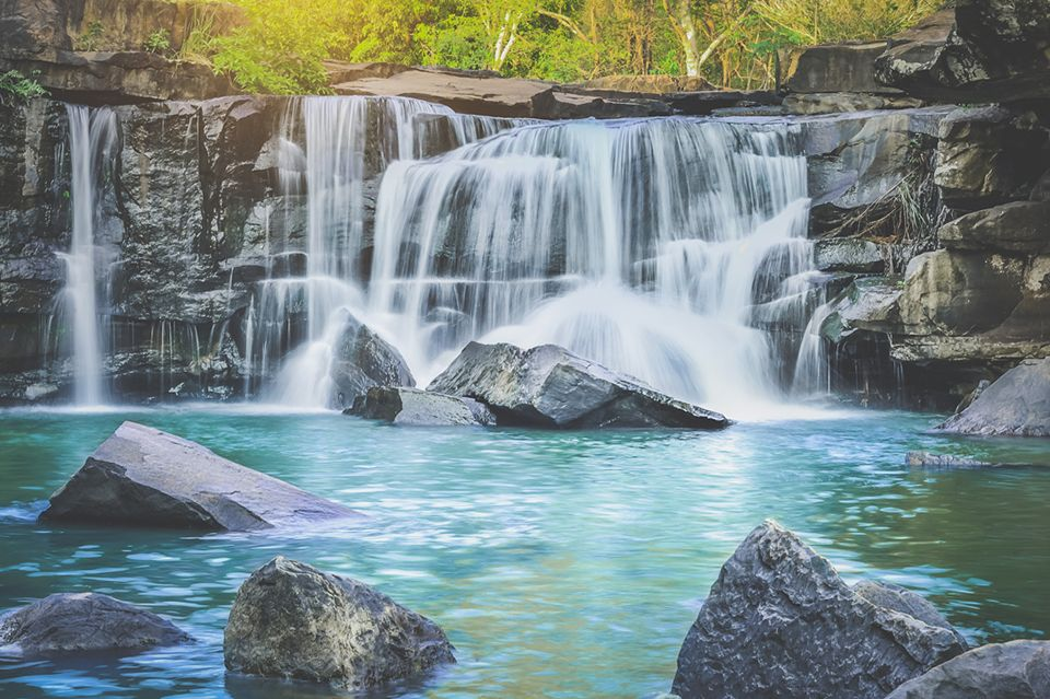 How Could A Trip To Chaiyaphum Be Completed Without Visiting Tropical Tadtone Waterfall Let S Jump Into A Big Nature Made Pool Swimming Around And Listening T