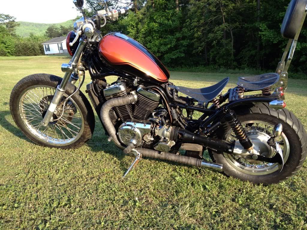 Intruderalert Cafe Bobber Bikes Bobber Vintage Motorcycles [ 768 x 1024 Pixel ]