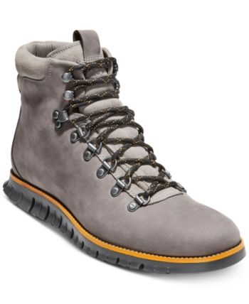 4225d7b5848 Cole Haan Men's Zero Grand Hiker Water-Resistant Ii Boots - Gray 13 ...