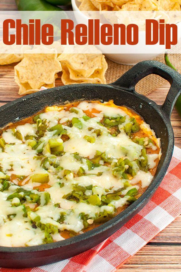 Chile Relleno Dip - Easy Appetizer Recipe #dipsandappetizers
