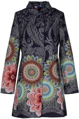 72a5e503122 DESIGUAL Coat | In The Closet | Coat, Fashion, Blue coats