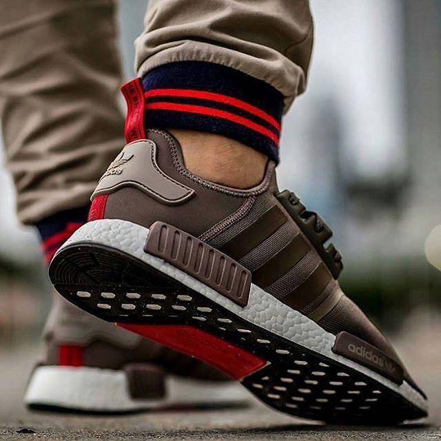 685a1a3a0 Adidas NMD R1 Tech Earth  sneakernews  Sneakers  StreetStyle  Kicks ...