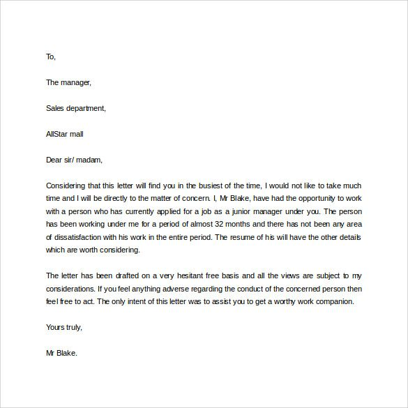 Sample Professional Letter Formats The Jays Business And Negative