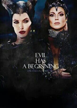 Evil queen and maleficent