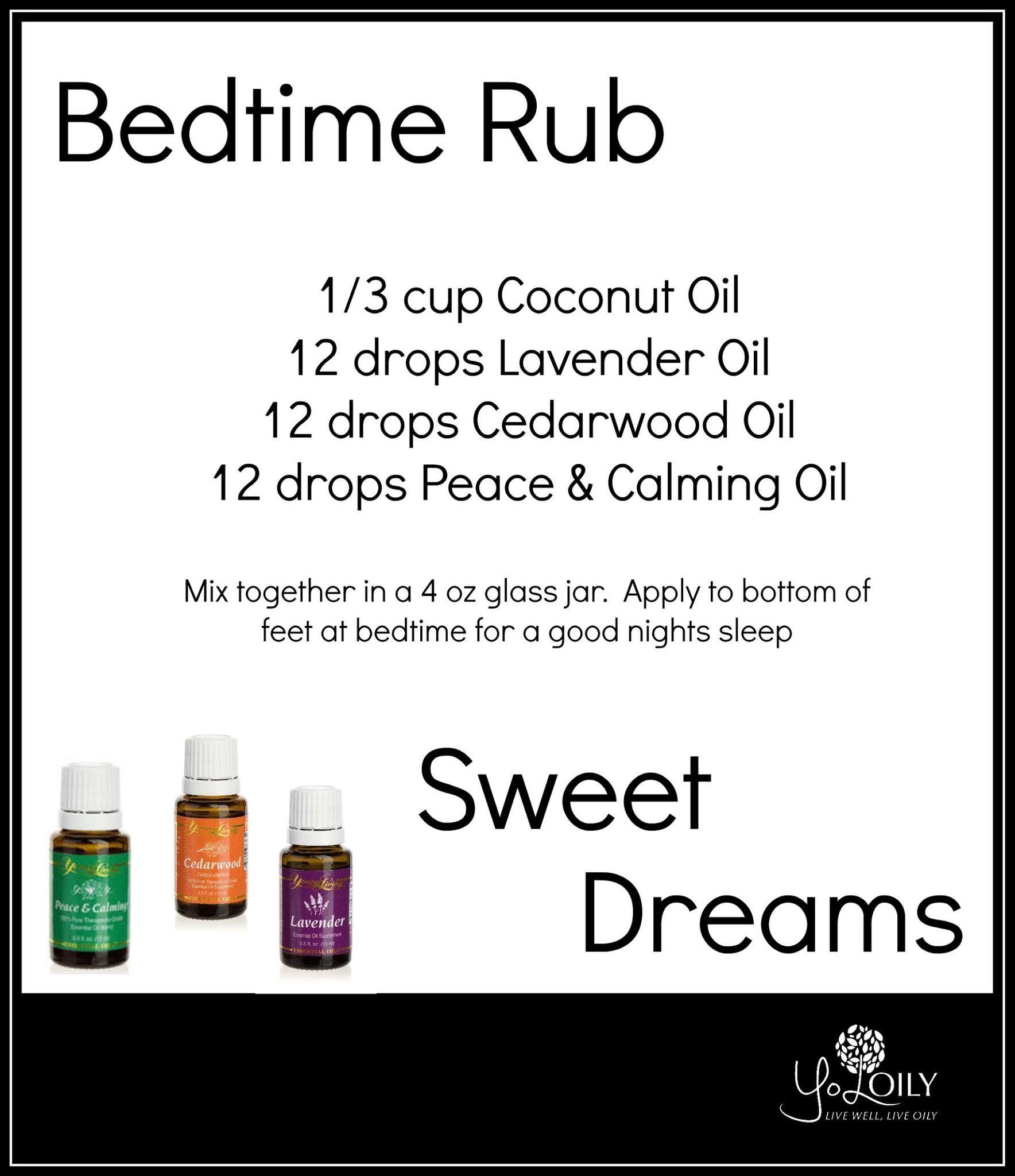 bedtime yl essential oils therische le und rezepte. Black Bedroom Furniture Sets. Home Design Ideas