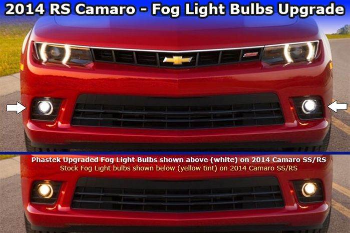 2014 2015 Camaro Fog Light Bulb Upgrade H11 Bright White