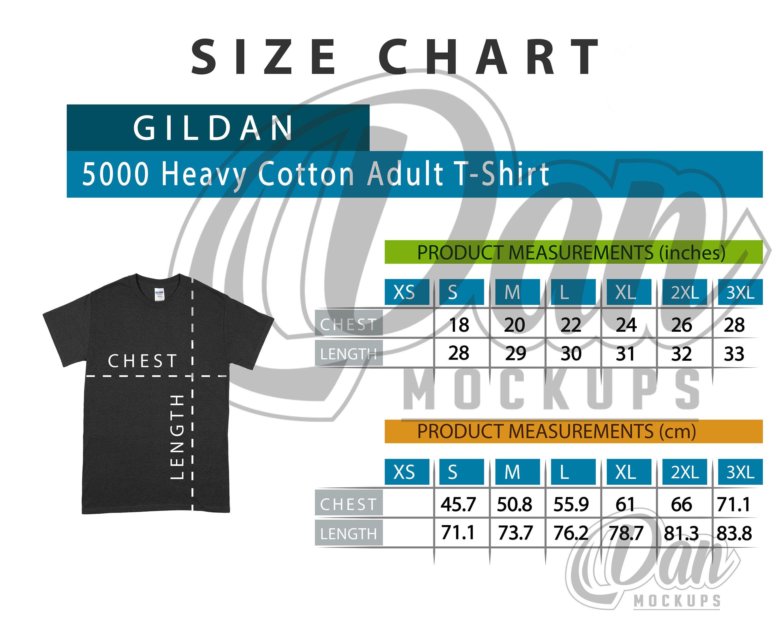 Pin On Gildan T Shirt Size Charts [ 2400 x 3000 Pixel ]