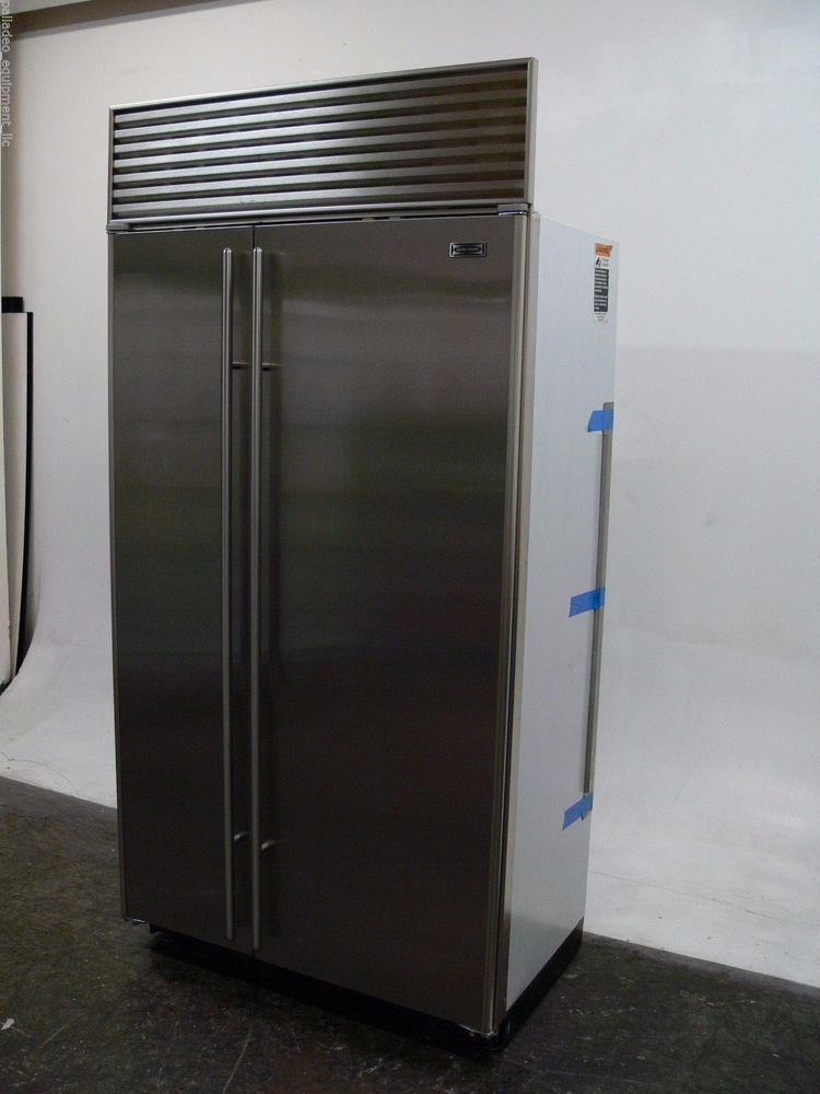 Sub Zero 642 S Built In 42 Stainless Steel Refrigerator Freezer Ice Maker Subzero