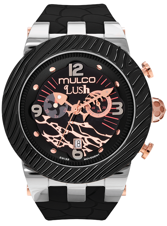 Reloj Mulco Colección Lush Color Negro MW5-2365-025