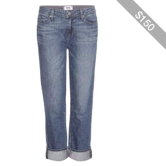 Paige Porter Cropped Boyfriend Jeans