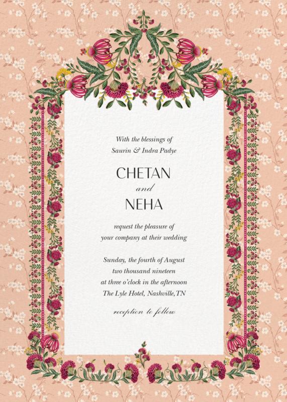 Bespoke Digital Wedding Invitations Crafted With Aesthetics Digital Wedding Invitations Indian Wedding Cards Indian Wedding Invitation Cards