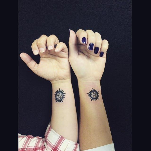 Supernatural Matching Tattoos
