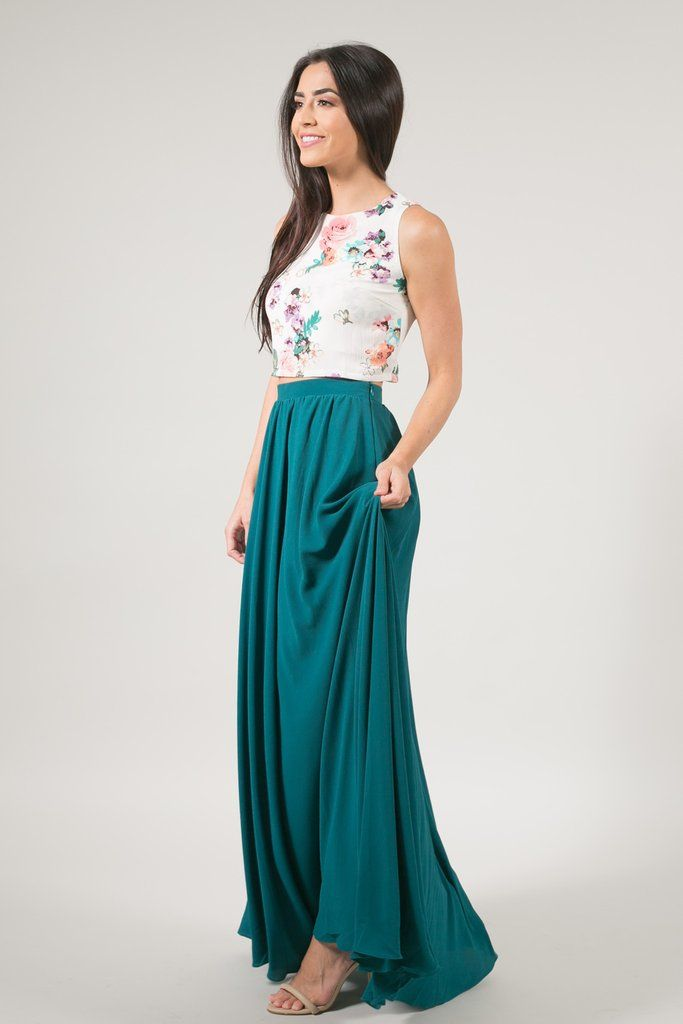 9e9a24ef4 Our Kelly maxi skirt is a designer inspired piece gorgeous flowy  silhouette. The small pleats throughout create full volume and movement,  making the most ...