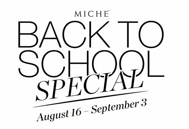 Details for the Miche  Back To School Special Promotion  (8/16/2103 through 9/3/2013). www.bagladynw.miche.com